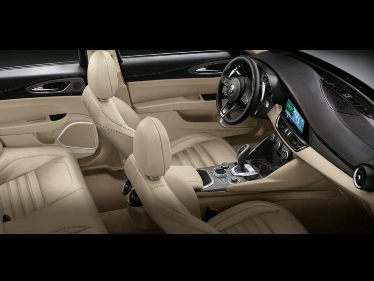 Interior Alfa Romeo Giulia 2020