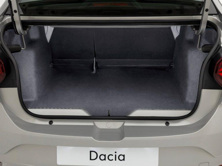 Maletero Dacia Logan 2021