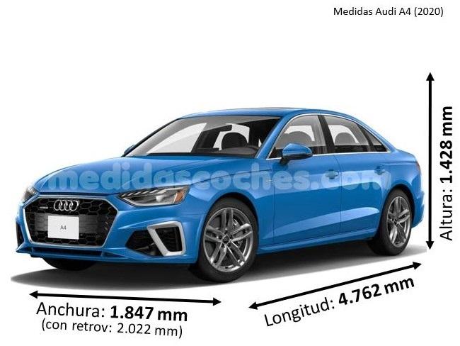 Medidas Audi A4 2020