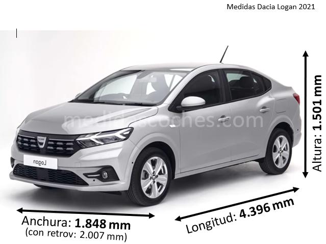 Medidas Dacia Logan 2021
